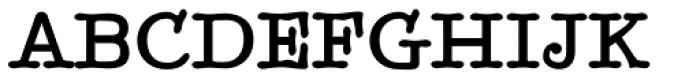 BetterTypeRight Bold Font UPPERCASE
