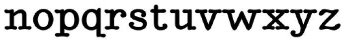 BetterTypeRight Bold Font LOWERCASE
