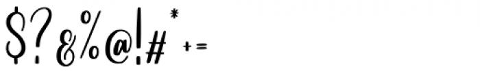 Betterlove Regular Font OTHER CHARS