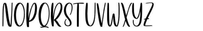 Betterlove Regular Font UPPERCASE