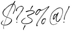 Betterworks Regular Font OTHER CHARS