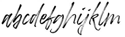 Betterworks Regular Font LOWERCASE