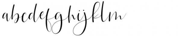 Betthofen Regular Font LOWERCASE