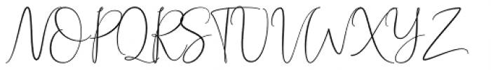 Bettrish Regular Font UPPERCASE