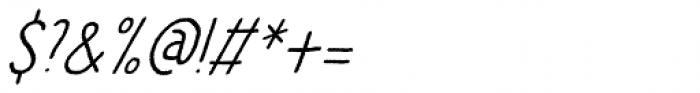 Betula Font OTHER CHARS