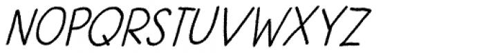 Betula Font UPPERCASE