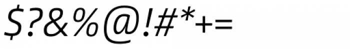 Between 1 Light Italic Font OTHER CHARS