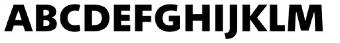 Between 2 Heavy Font UPPERCASE