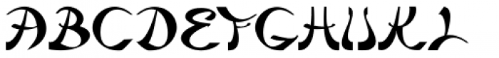 Beyond Babylon Font UPPERCASE