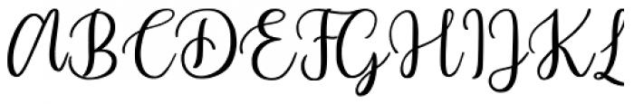 Beyond Regular Font UPPERCASE
