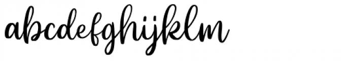 Beyond Regular Font LOWERCASE