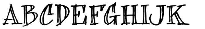 bearerFond Font UPPERCASE