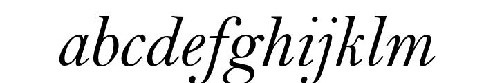 Bell MT Italic Font LOWERCASE