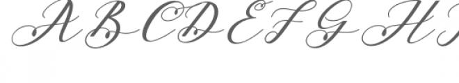 Beloved Script Font UPPERCASE