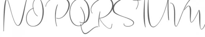 Bettina Script Font UPPERCASE