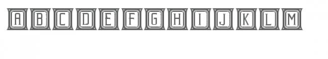 beholder capitals Font UPPERCASE