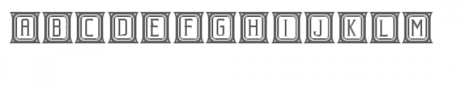 beholder capitals Font LOWERCASE