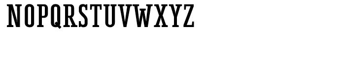 BF Corpa Serif Black Font UPPERCASE