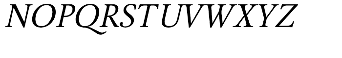 BF Girando Pro Regular Italic Font UPPERCASE