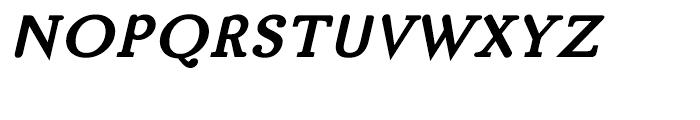 BF Matula Black Italic Font UPPERCASE