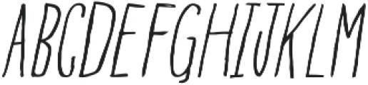 BGoblet Drawn otf (300) Font UPPERCASE