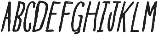 BGoblet Drawn otf (400) Font UPPERCASE