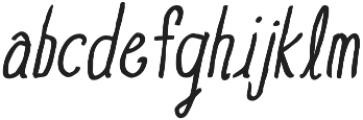 BGoblet Drawn otf (400) Font LOWERCASE
