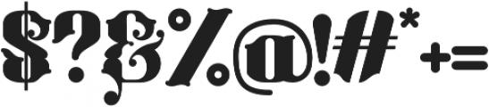 Bhaltazar otf (400) Font OTHER CHARS