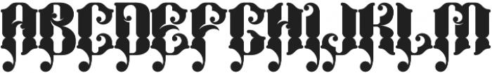 Bhaltazar otf (400) Font UPPERCASE