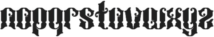 Bhaltazar otf (400) Font LOWERCASE