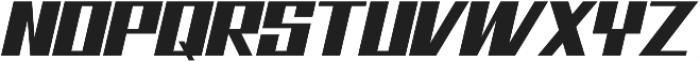 Bhejeuct Gash Typeface otf (400) Font UPPERCASE