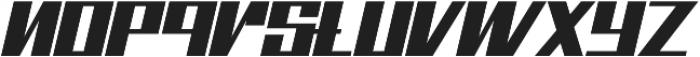 Bhejeuct Gash Typeface otf (400) Font LOWERCASE