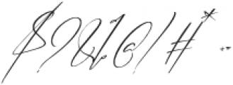 Bhestting otf (400) Font OTHER CHARS