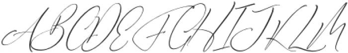 Bhestting otf (400) Font UPPERCASE
