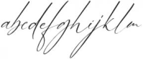 Bhestting otf (400) Font LOWERCASE