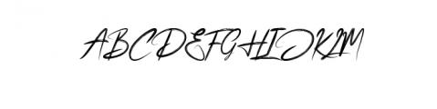 Bhabhie.ttf Font UPPERCASE