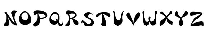Bharatic-Font Font UPPERCASE