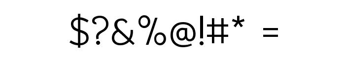 Bhavuka Regular Font OTHER CHARS