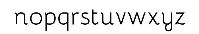 Bhavuka Regular Font LOWERCASE