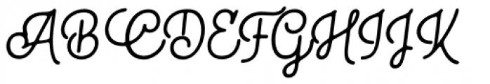 Bhontage Italic Font UPPERCASE