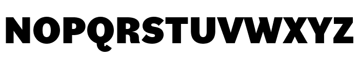Bilo Black Font UPPERCASE