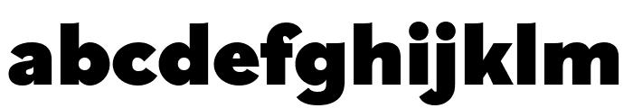 Bilo Black Font LOWERCASE