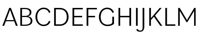 Bilo Light Font UPPERCASE