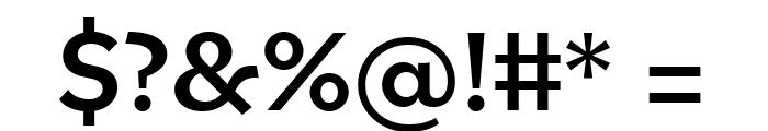Bilo Medium Font OTHER CHARS