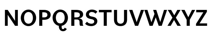 Bilo Medium Font UPPERCASE