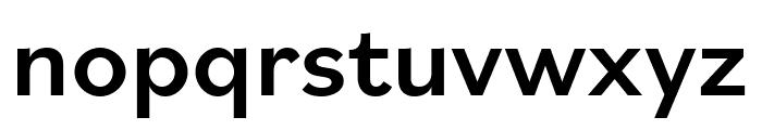 Bilo Medium Font LOWERCASE