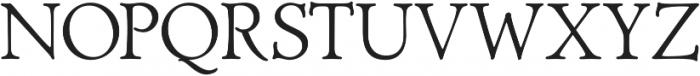 Biblia Serif otf (400) Font UPPERCASE