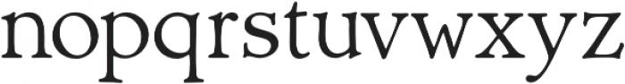 Biblia Serif otf (400) Font LOWERCASE