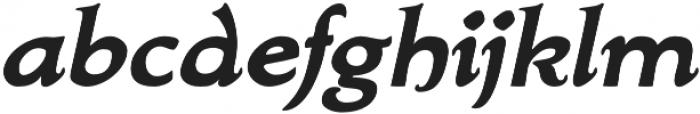 Biblia Serif otf (700) Font LOWERCASE