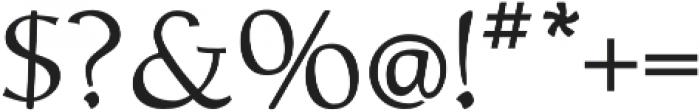 Biblia otf (400) Font OTHER CHARS